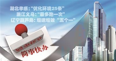 """让""""简事快办"""" 促服务升级——寻找最优营商环境市区县系列报道7缩略图"""