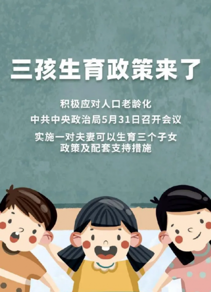 中央政治局会议审议《关于优化生育政策促进人口长期均衡发展的决定》插图