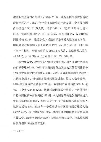 海南发布《海南自由贸易港建设白皮书(2021)》插图35