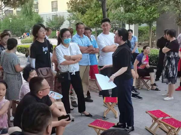 青岛市即墨区和顺社区开展群策解民情活动插图