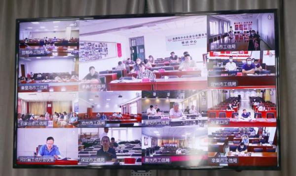 河北省工业和信息化厅召开全省工业投资技改投资项目建设视频调度会插图2