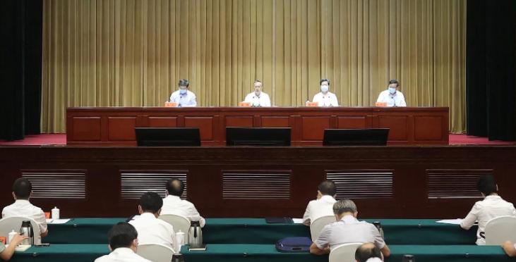 """国务院河南郑州""""7·20""""特大暴雨灾害调查组进驻动员会在郑州召开缩略图"""