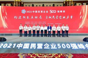 """2021中国民营企业500强峰会召开 强调""""民营企业和民营企业家是自己人""""缩略图"""