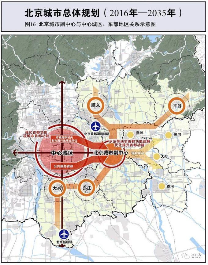"""坚持创新引领、""""五子""""联动,京城副中心高质量发展重点划定缩略图"""